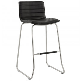 Tabouret de bar design MIRTO Noir
