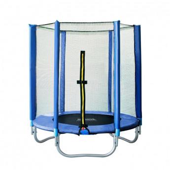 Trampoline de jardin bleu MyJump 1,40 M