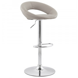 Tabouret de bar design ATLANTIS Gris