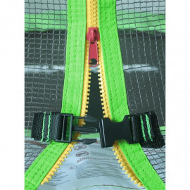 Trampoline de jardin vert MyJump 1,40 M
