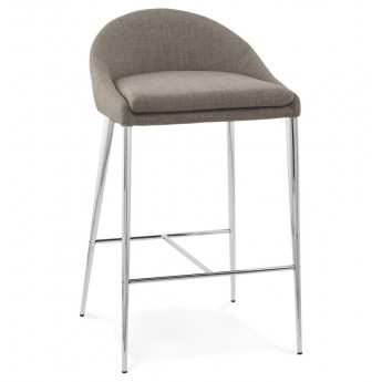 Tabouret de bar design TALON Gris
