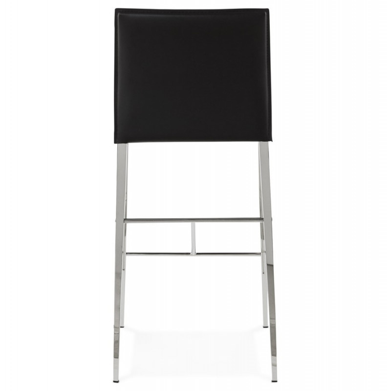 tabouret de bar design dolby noir. Black Bedroom Furniture Sets. Home Design Ideas