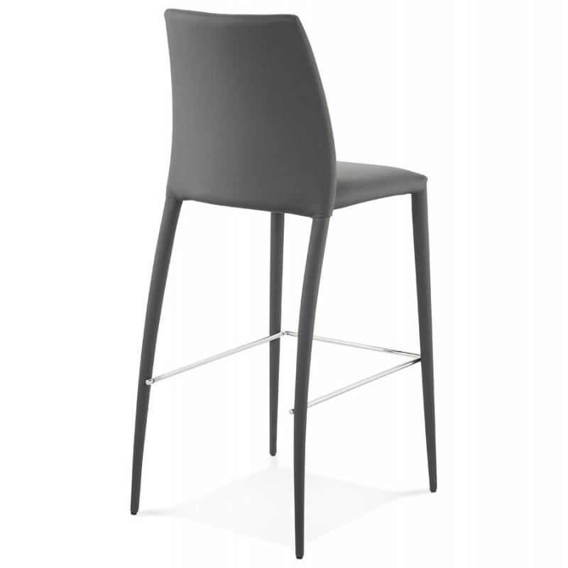 tabouret de bar design bovary noir. Black Bedroom Furniture Sets. Home Design Ideas