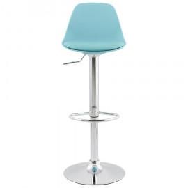 Tabouret de bar design SUKI Turquoise