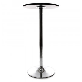 Table bar design LILA Noir