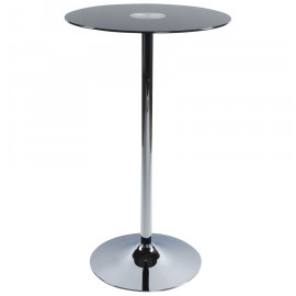 Table bar design STAND Noire