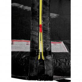 Trampoline de jardin noir MyJump 1,85 M