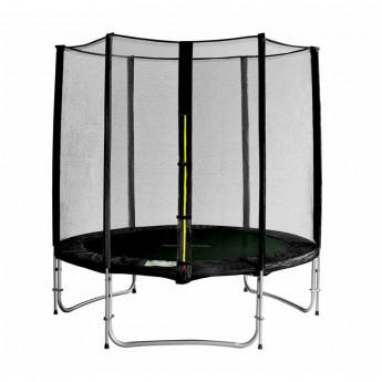 Trampoline de jardin avec renforts noir MyJump 1,85 M