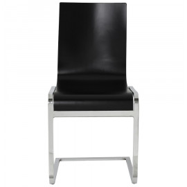 Chaise design SOFT Noire