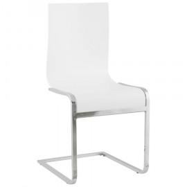 Chaise design SOFT Blanche