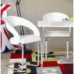 Chaise design MONA Blanche