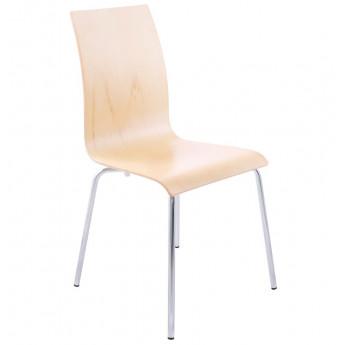 Chaise design CLASSIC Bois clair