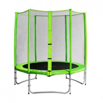 Trampoline de jardin vert avec renforts MyJump 1,85 M