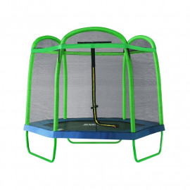 Trampoline de jardin vert MyJump 2,10 M