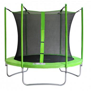 Trampoline de jardin vert V2 MyJump 2,45 M
