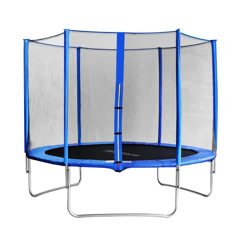 trampoline de jardin bleu myjump 3 05 m. Black Bedroom Furniture Sets. Home Design Ideas