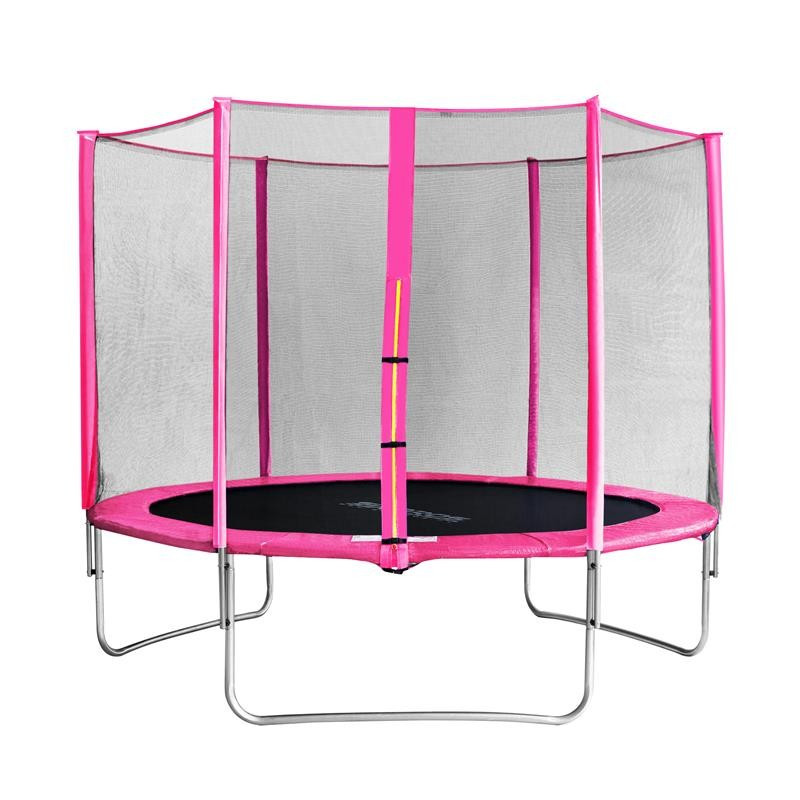 trampoline de jardin rose myjump 3 05 m. Black Bedroom Furniture Sets. Home Design Ideas