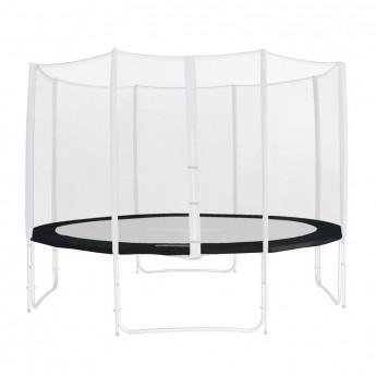 Tour de protection de rechange noir pour trampoline de jardin - 1,85 M - 4,60 M