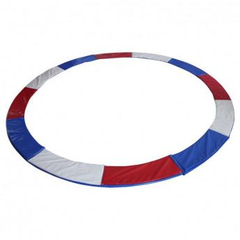 Tour de protection de rechange pour trampoline 1,85 - 4,60m - tricolore