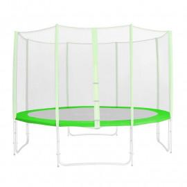 Tour de protection de rechange vert pour trampoline de jardin - 1,85 M - 4,60 M