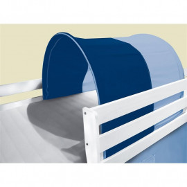 Tunnel / grotte pour lit surélevé - Lit de jeu bleu clair