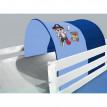 Tunnel / grotte pour lit surélevé - Lit de jeu Pirate blu