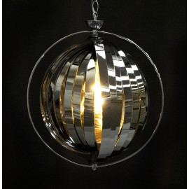 Lampe suspendue design EMILY CHROME
