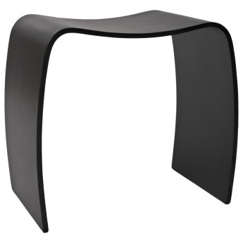 Tabouret design Noir MITCH