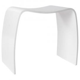 Tabouret design Blanc MITCH