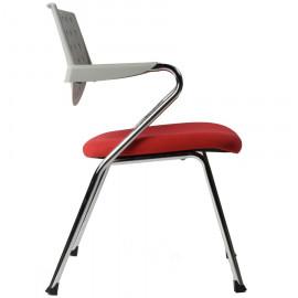 Chaise de bureau Blanche et Rouge YALE