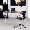 Chaise de bureau Noire OXFORD