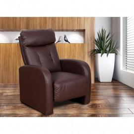 Fauteuil de relaxation Didot marron