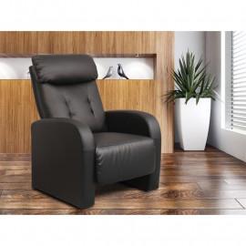 Fauteuil de relaxation Didot noir