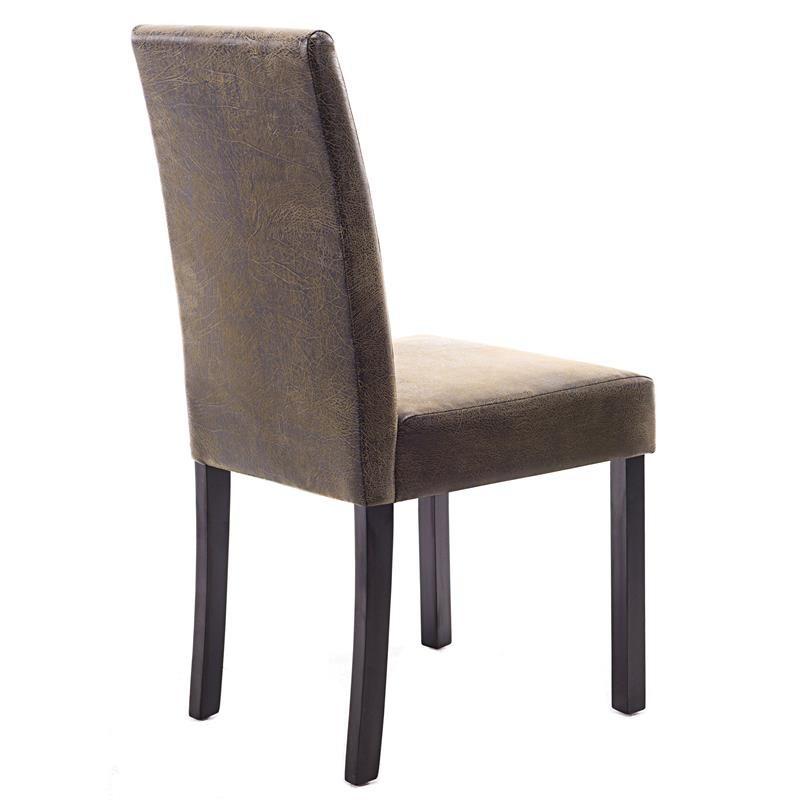 Chaise pogo bois de h tre massif weng brun vintage - Chaise bois vintage ...