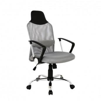 chaise de bureau galo pivotante grise. Black Bedroom Furniture Sets. Home Design Ideas