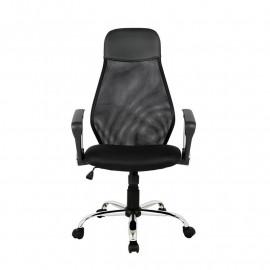 Chaise de bureau pivotante Mado noire