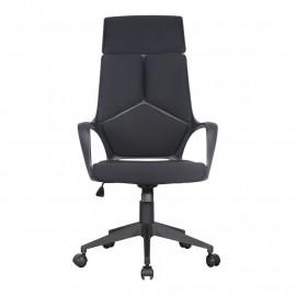 Chaise de bureau Moderna tissu noire