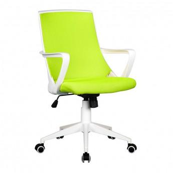 Chaise de bureau tissu Style verte/blanche