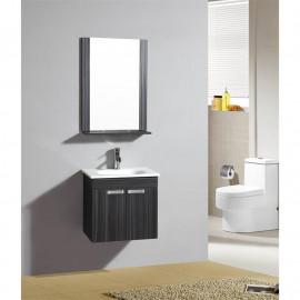 Ensemble meuble de salle de bain - Turin Wengé