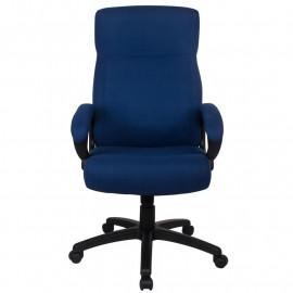 Chaise de bureau Paras Bleu foncé