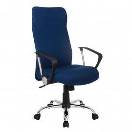 Chaise de bureau Tao pivotante Bleu