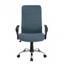 Chaise de bureau Tao pivotante Gris foncé