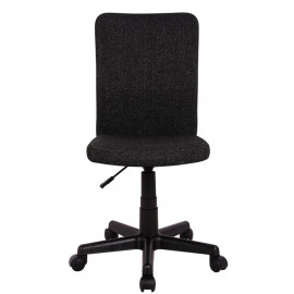 Chaise de bureau Flo noire