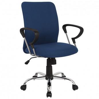 Chaise de bureau Yola pivotante bleu