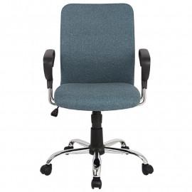 Chaise de bureau Yola pivotante grise foncé