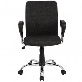 Chaise de bureau Yola pivotante Noire