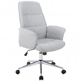 Chaise de bureau gris 0704H/4458