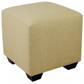 Pouf Repose-pied Living beige