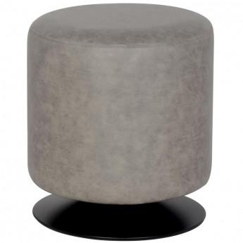 Pouf/Repose-pied rembourré gris M-60351/4051