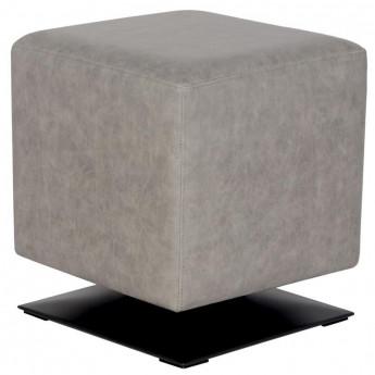 Pouf/Repose-pied rembourré gris M-61352/4054